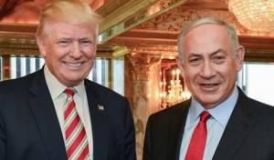 נתניהו וטראמפ בבית הלבן - נתניהו מגבש חבילת הטבות לפלסטינים
