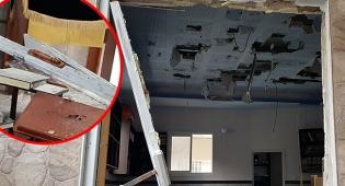 המראות הקשים ב'מוסיאוף' - עצור  בחשד לפוגרום בבית הכנסת 'מוסיאוף'