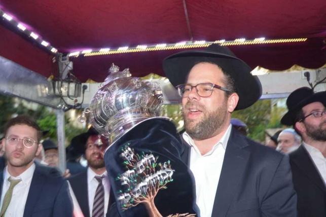 """הרב שמואל אייזנבך זצ""""ל, לפני כשנה"""