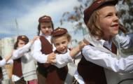 'יענקלה הכונס' בצעדת פורים של ילדי חיידר