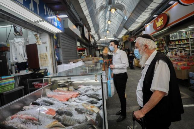 קניות בשוק, בצל ה'קורונה'