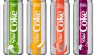 בקרוב, ובאמריקה . - קורצים לשמנים: 4 טעמים חדשים לקוקה קולה דיאט