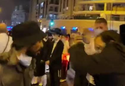 השוטר שנתן אגרוף לחרדי - יועבר מתפקידו