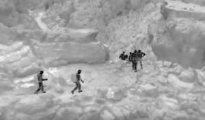 תיעוד רחפן: רגע מציאת הנעדרים בנחל אוג