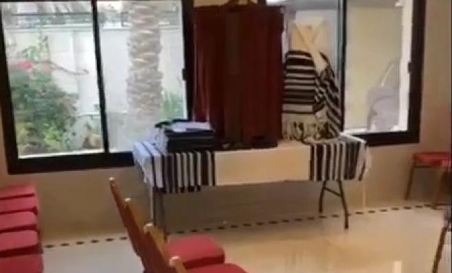 צפו בבית הכנסת היהודי הראשון ב...דובאי