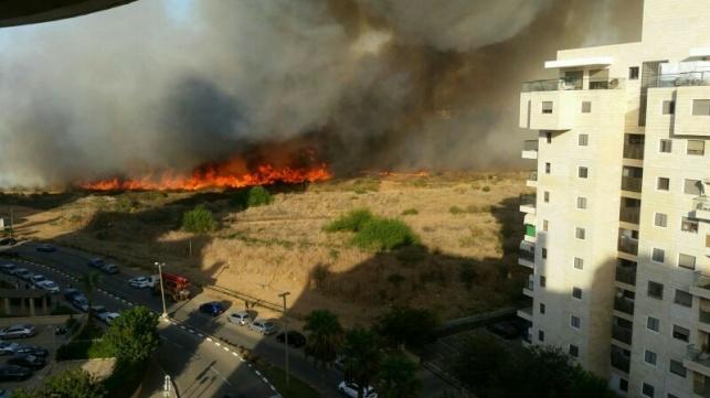 האש המתפשטת