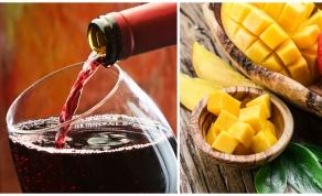 """קינוח פירות טריים ויבשים עם יין אדום - ספיישל ט""""ו בשבט: קינוח פירות ביין אדום מתובל"""