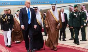 """טראמפ בסעודיה. היום - נקודת מפנה: עסקת ענק בין ארה""""ב וסעודיה"""