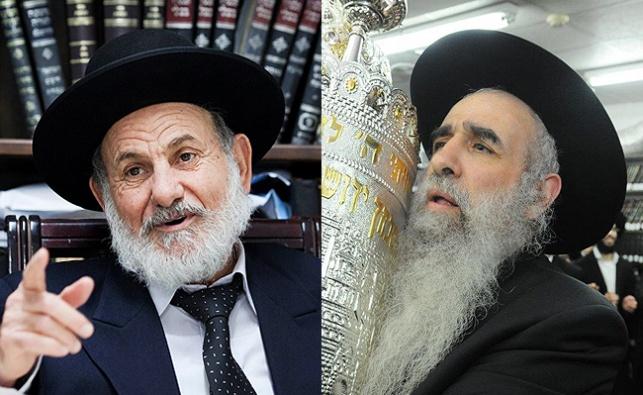 הרב יצחק ברכה והרב ציון בוארון