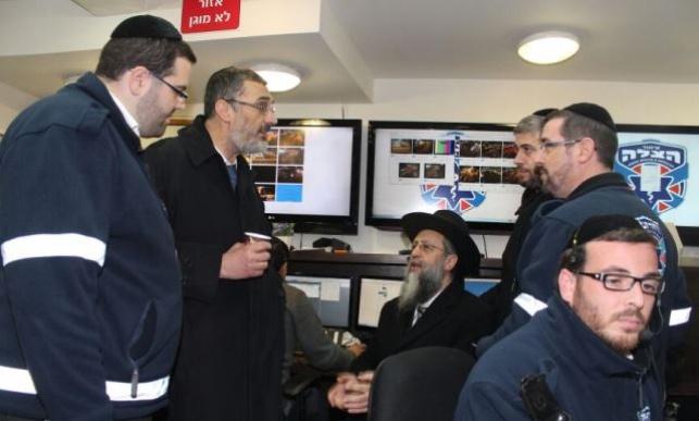 סגני ראש העיר ביקרו ב'איחוד הצלה'