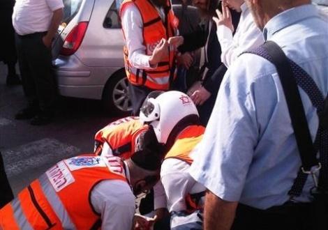 אילוסטרציה - בת 12 נפצעה בינוני ליד פארק משחקים