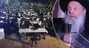 """הרב רוזנברגר והמחאה - חבר בד""""צ 'העדה' השתלח בראשי הישיבות"""
