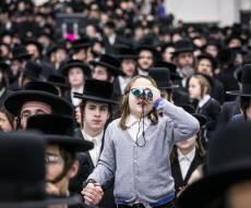 אלפים בכינוס 'יום ההצלה' בחסידות סאטמר