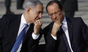 נתניהו עם נשיא צרפת