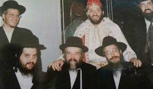 משמאל: לייבוביץ, מימין: דרעי. חברים טובים