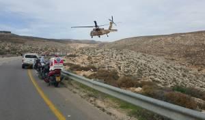 חיילת נהרגה בהתהפכות אוטובוס בבנימין, 50 חיילים נפצעו