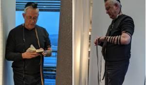 בדרך לישראל: בני גנץ הניח תפילין • תיעוד