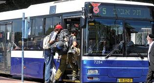 """תחבורה ציבורית - """"אוטובוסים נסעו בבני ברק בשבת"""""""