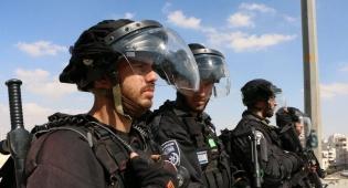 כוחות משטרה בירושלים - כוננות משטרתית בי-ם לקראת מחר