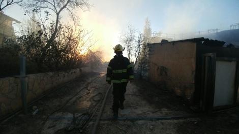 הנזק בבית מאיר - השריפות בבית מאיר ובהר חלוץ - הצתות