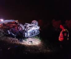 כביש 65: בן 50 התנגש עם רכבו בפרה ונהרג
