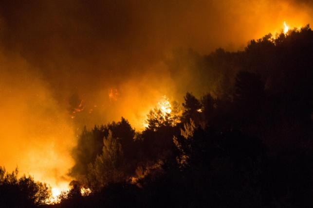"""כל """"חטאו"""" היה בסיוע בבלימת השריפה. אילוסטרציה"""