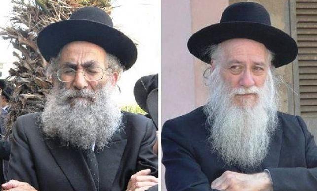 הרב אליעזר כהנמן לצד הרב שמואל מרקוביץ