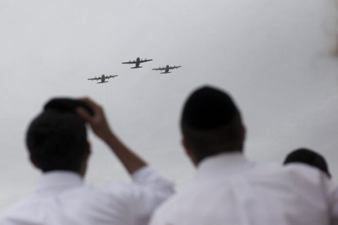 """זמני מטס חיל האוויר  - יום העצמאות תשע""""ז"""