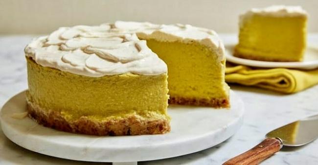 גם פרווה וגם ללא גלוטן. עוגת לימון מנצחת