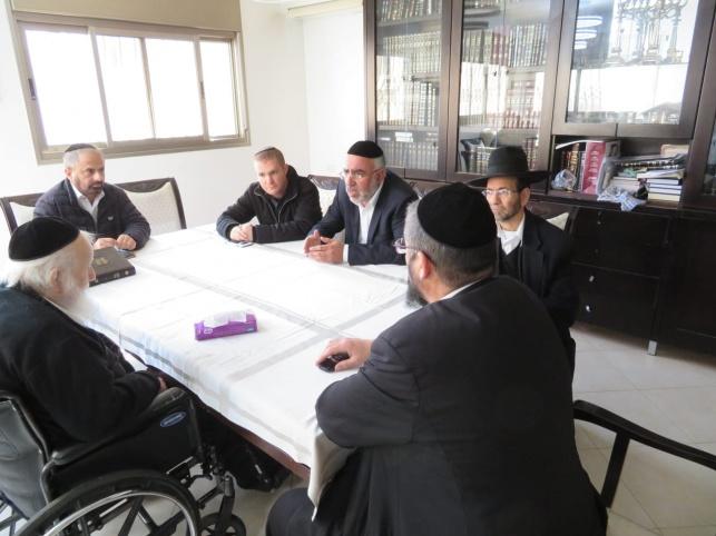 """כינוס הנציגים בבית הגאב""""ד"""