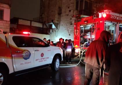 אסון: חרדי נספה בשריפה שפרצה במחסן