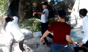 ערבים נקטו באלימות, בחורי הישיבה נעצרו