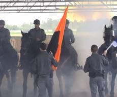 טקס חגיגי: פרשי המשטרה זכו למתקן חדש
