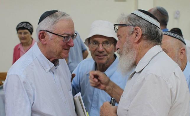 פרופ' כשר באירוע לציון 90 שנה למגדל עדר
