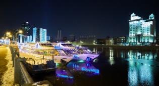 במוסקבה חגגו ערב הוקרה על אוניה בנהר