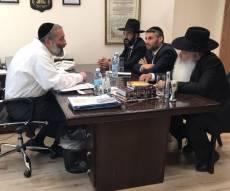 """הפגישה בין דרעי לרב זר - הרב דניאל זר הודיע:  """"מושך את כל העתירות המשפטיות"""""""