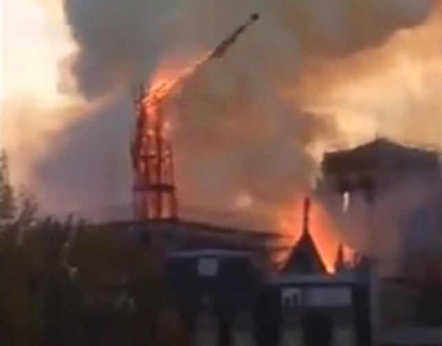 שריפת הענק בכנסיה