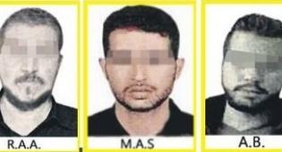 חלק מהחשודים שתמונתם פורסמה