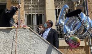 שמעון חגג יום הולדת 100, השכנים הפתיעו