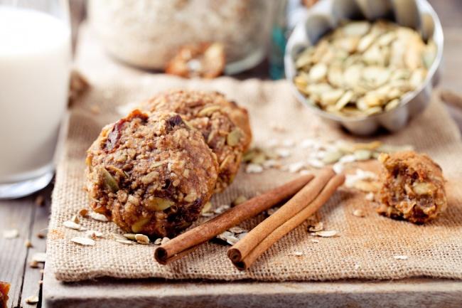 עוגיות גרנולה פריכות ומזינות
