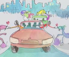 אהרן רזאל בקליפ אנימציה חדש: עם ישראל