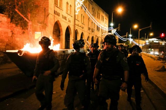 שוטרים בעיר העתיקה. ארכיון