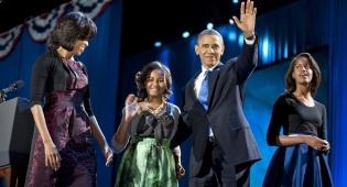 נשארים בוושינגטון. משפחת אובמה