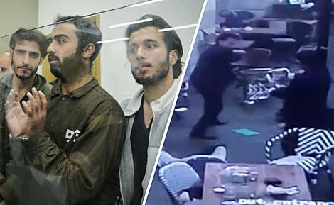 המחבלים בפיגוע ובבית המשפט - המחבלים משרונה תכננו פיגוע המוני ברכבת