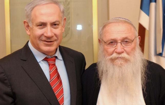 הר' חיים דרוקמן וראש הממשלה
