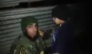 רגע הלכידה - ילד-מחבל מדאעש נתפס ברגע האחרון. צפו