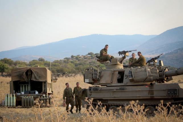 """צה""""ל פורס כוחות בלבנון, לפני שבועיים"""
