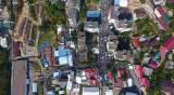 עשרות האלפים באומן - מבט מהאוויר: צפו בעשרות האלפים באומן