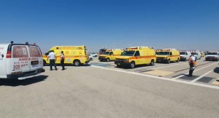 """הוכרז מצב חירום: מטוס תקול נחת בנתב""""ג"""