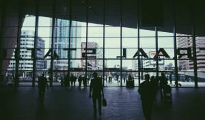 תחנת רכבת בהולנד